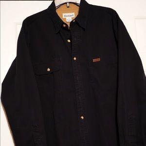 EUC Men's (L) Carhartt Button down long sleeve